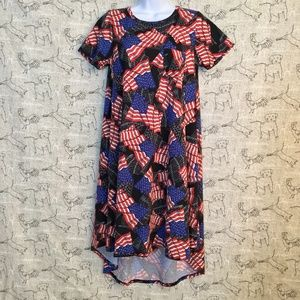 LuLaRoe Patriotic Dress XS